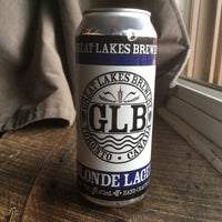Great Lakes Brewery Blonde Lager