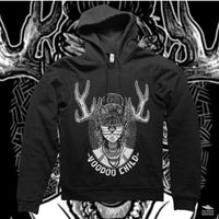 Black Voodoo Child Hoodie