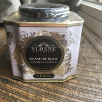 Sloane Tea Loose Leaf Tin (Signature Black)