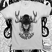 White Voodoo Child T-Shirt