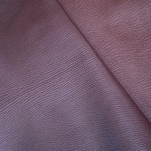 A beautiful shrunken grain goat skin, with a hand tipped finish giving a very subtle tonal contrast. A silky soft, plump, hand feel these skins are perfect for handbags and small leather goods. With great colour and light fastness properties.
