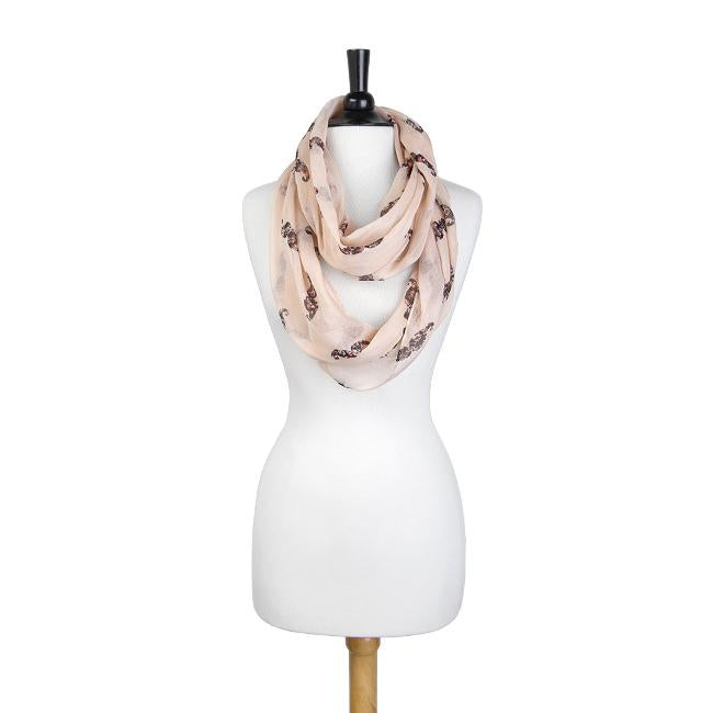Forever Peach Infinity Scarf