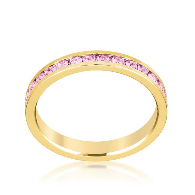 Stylish Stackables Pink Gold Ring