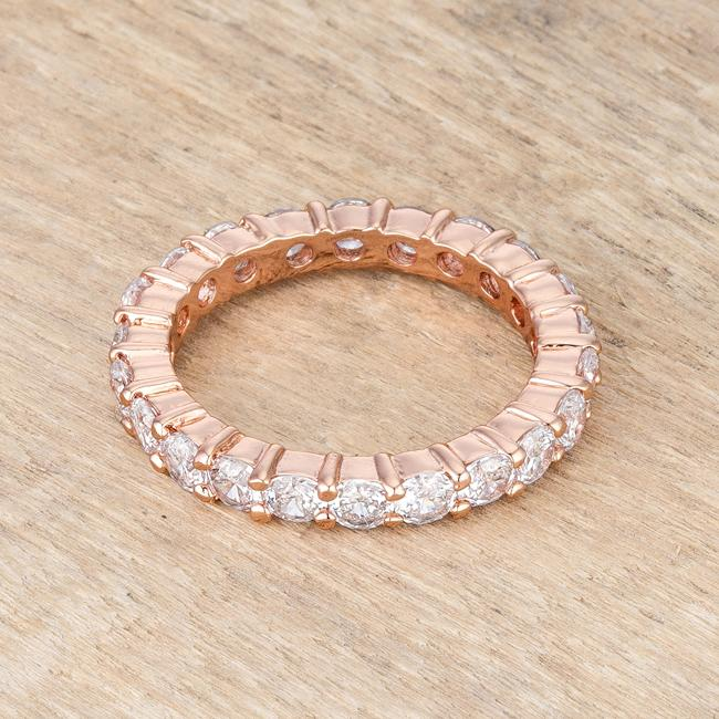 Jessica Band in Rose Goldtone Finish