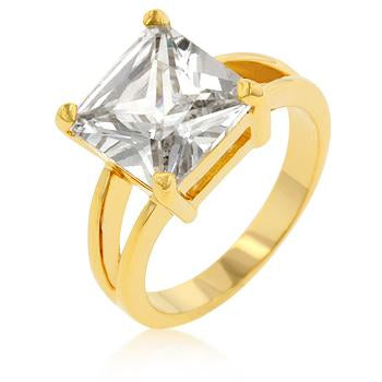 Crystal Ceste Di Amore Ring
