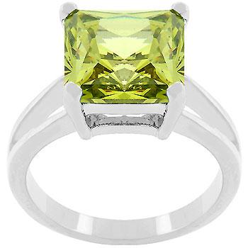 Peridot Gypsy Ring