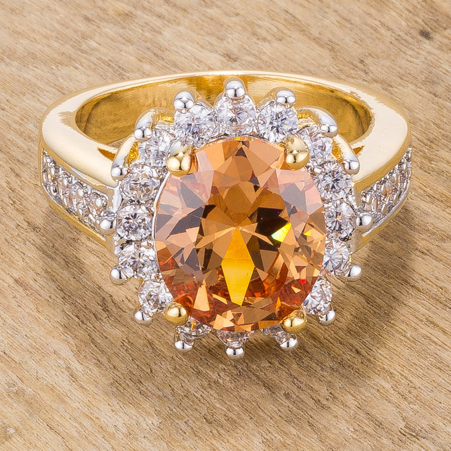Champagne Cambridge Elegance Ring