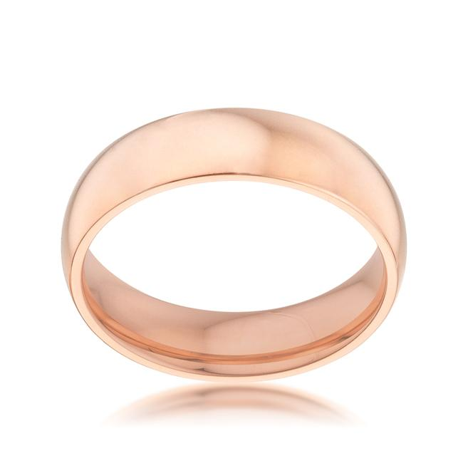 5 mm IPG Rose Gold Stainless Steel Band