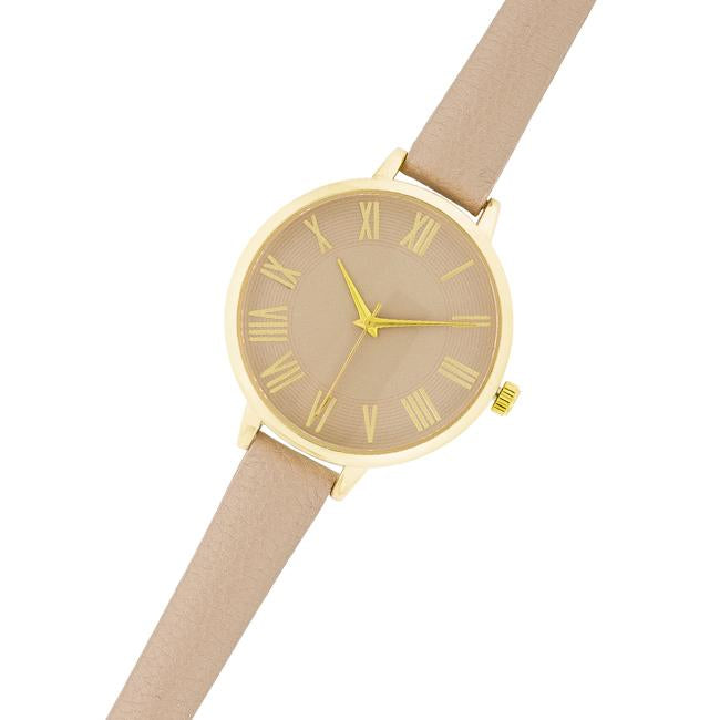 Classic Thin Leather Watch