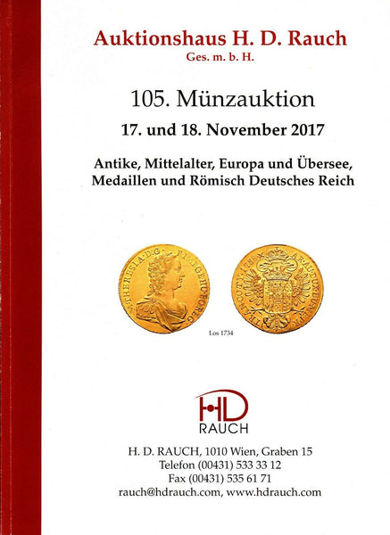 Auktionshaus H.D.Rauch GmbH AUCTION 105,2017 ANCIENT AND WORLD COINS (52)