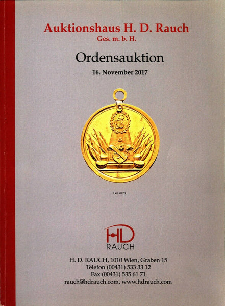 Auktionshaus H.D.Rauch GmbH AUCTION 105,2017 WORLD ORDERS (68)