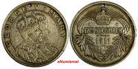 GREAT BRITAIN MEDAL George V & Mary Coronation Durbar - 1911; 12th December 32mm