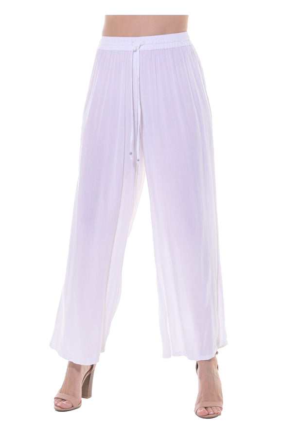 Azucar Ladies Rayon Drawstring Pants (LRP1135)