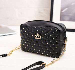 Classic Crown Crossbody Bag