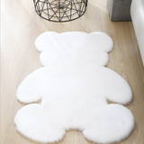 Plush Teddy Bear Rug