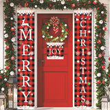 Christmas Porch Banner Decoration