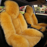 High Quality 2 Pcs Fluffy Car Seat Cover