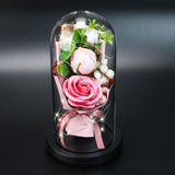 Romantic simulation flower gift box