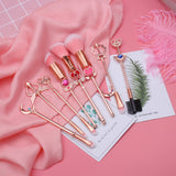 Luxury Crystals Make Up Brushes Set
