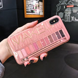 Luxury Makeup Eyeshadow Palette Phone Case