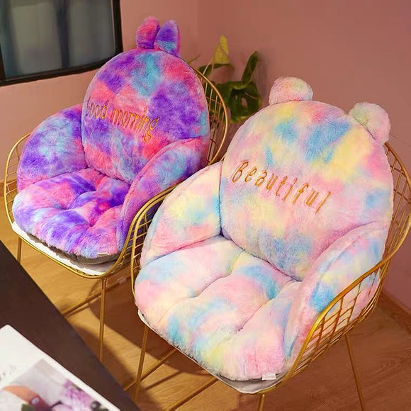 Plush Chair Cushion