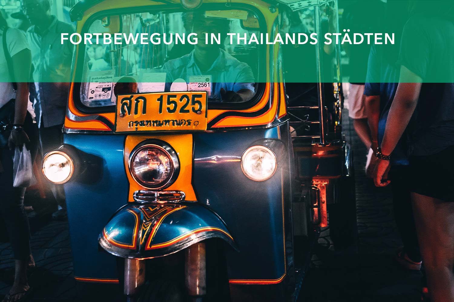 taxi thailand backpacking