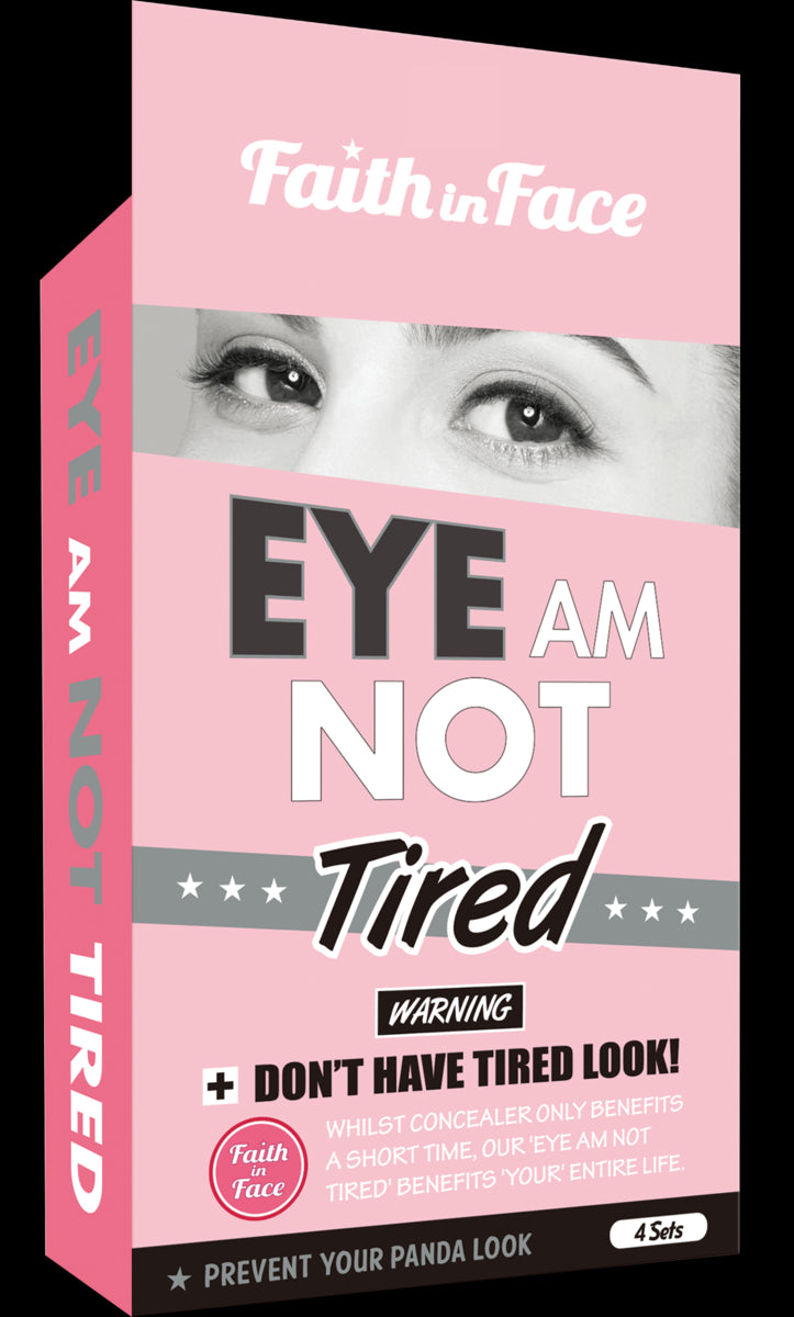 Jetour Mall Faith in Face我真係唔攰眼膜 Eye Am Not Tired Eye Patch