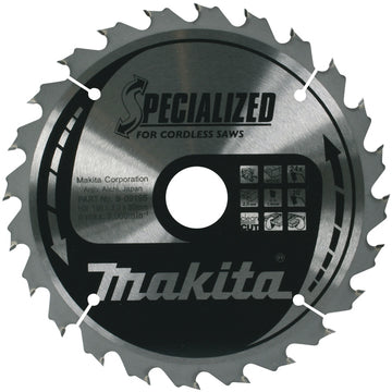 Makita B-09167 TCT Circular Saw Blade 165X20X24T for Wood