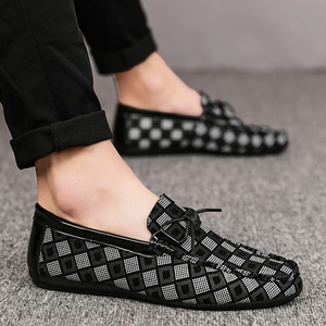 FreshTrend™ - Mens Lucky Plaid Loafers
