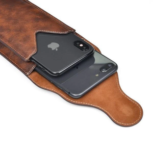 Akali™ LEATHER PHONE POUCH HOLSTER WAIST BAG