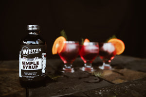 White's Elixirs Craft Cocktail Simple Syrup Mix