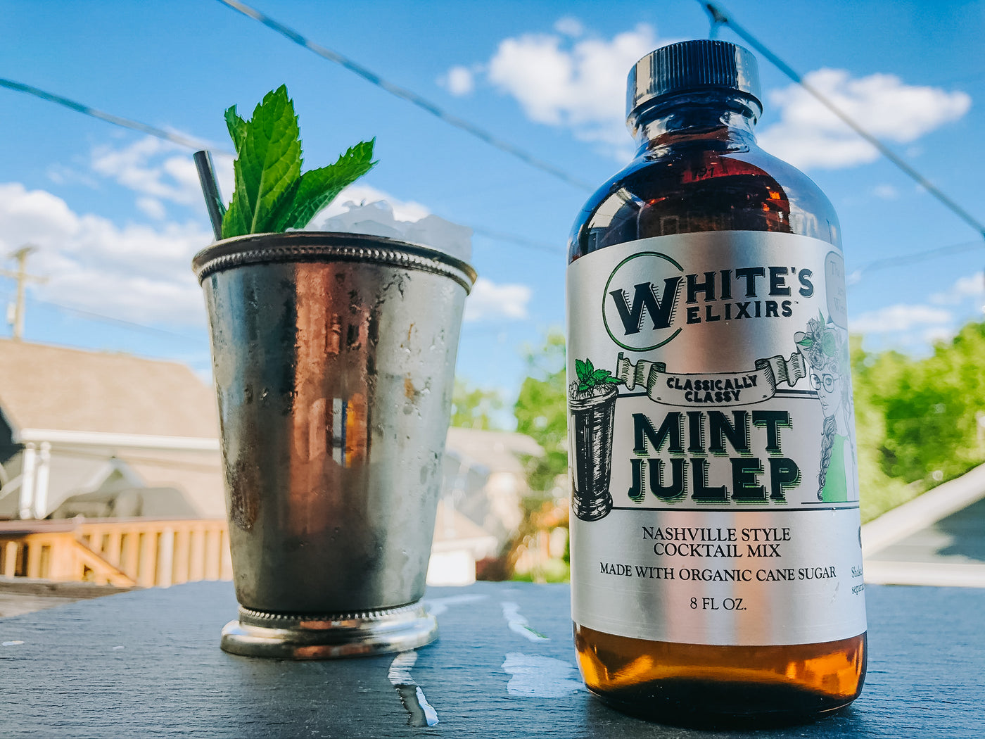 White's Elixirs Craft Cocktail Mint Julep Mix