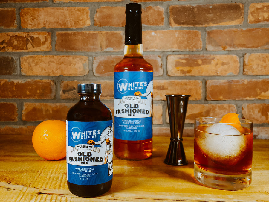 White's Elixirs Old Fashioned Craft Cocktail Mix 8 oz