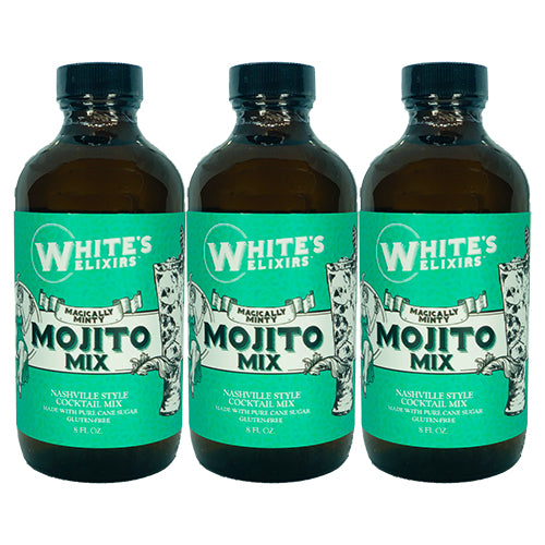 White's Elixirs Mojito Craft Cocktail Mix 8oz Triple Pack