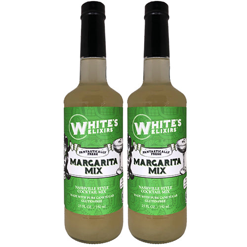 White's Elixirs Fresh Margarita Cocktail Mix 750ML Double Pack
