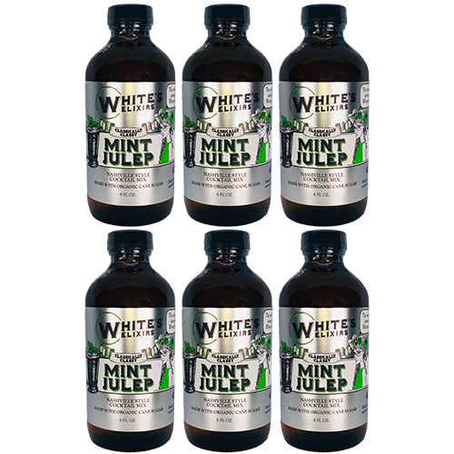 White's Elixirs Mint Julep Craft Cocktail Mix 8oz