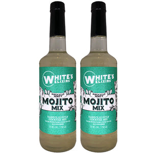 White's Elixirs Mojito Cocktail Mix 750 mL Double Pack