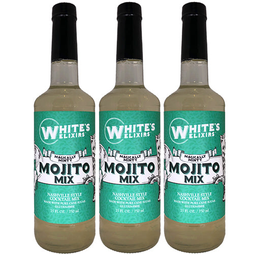 White's Elixirs Mojito Cocktail Mix 750 mL Triple Pack