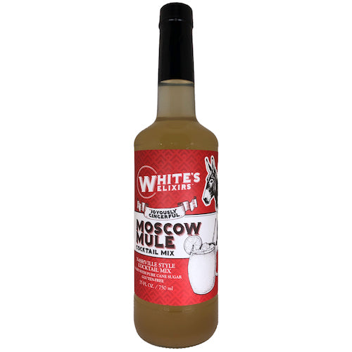 White's Elixirs Moscow Mule Craft Cocktail Mix 750ML