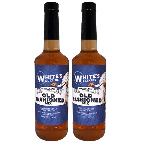 White's Elixirs Craft Cocktails Old Fashioned Mix 750ML Double Pack