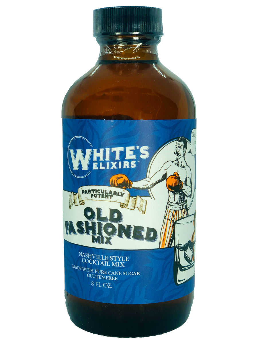 White's Elixirs Craft Cocktails Old Fashioned Mix 8 oz