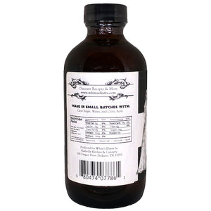 White's Elixirs Craft Cocktails Simple Syrup 8 oz Ingredients