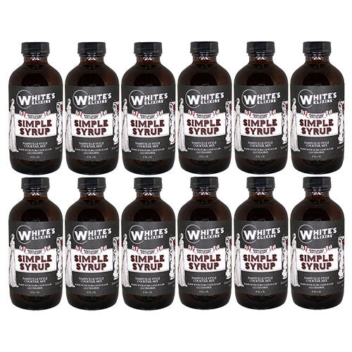 White's Elixirs Craft Cocktails Simple Syrup 8 oz
