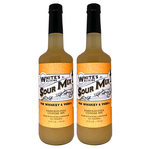White's Elixirs Sour Cocktail Mix 750 mL Double Pack