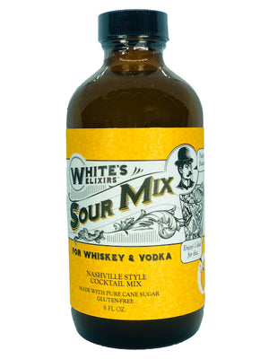 Six Bottle Pack White's Elixirs Sour Cocktail Mix 8oz