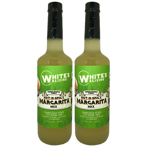 White's Elixirs Spicy Margarita Cocktail Mix 750 mL Double Pack