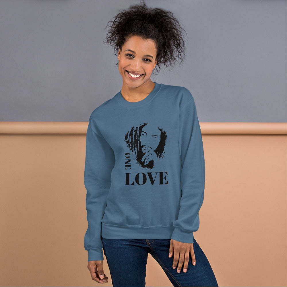 BOB Marley One Love Unisex Sweatshirt