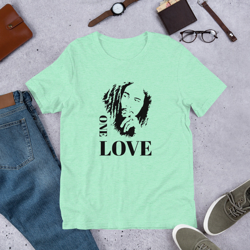 One Love Bob Marley Unisex Shirt