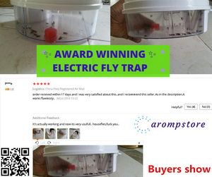 🏆AWARD WINNING ELECTRIC FLY TRAP🏆