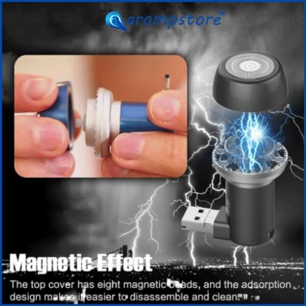 😎 Portable Mini Magnetic Suction Phone Shaver